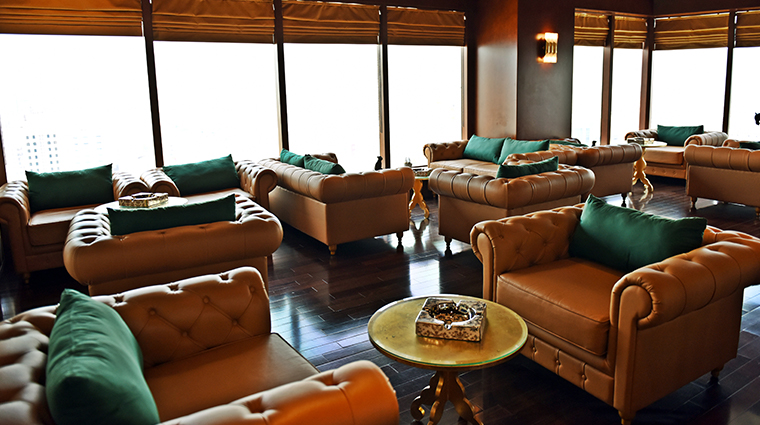 the domain hotel and spa cigar lounge