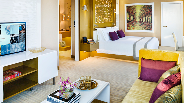 the domain hotel and spa guestroom