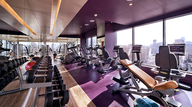 the domain hotel and spa gym
