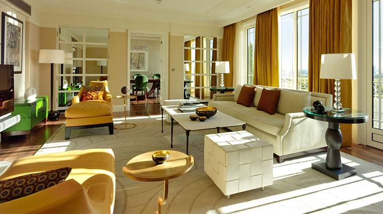 the dorchester Harlequin Sitting Room