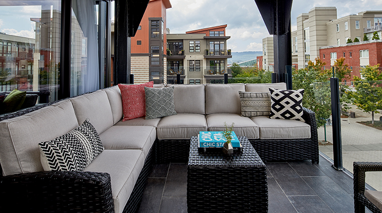 the edwin hotel king suite balcony