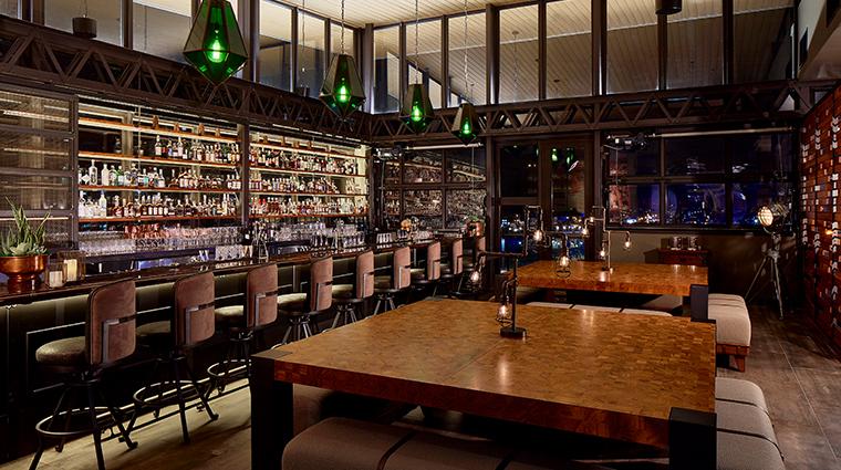 the edwin hotel whiskey thief bar
