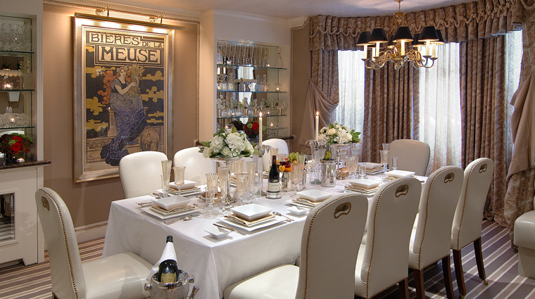 The egerton house hotel dining room wide