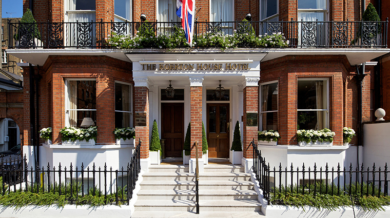 The egerton house hotel exterior