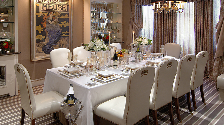 the egerton house hotel dining room table