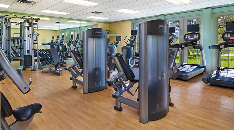 the equinox a luxury collection golf resort spa fitness center