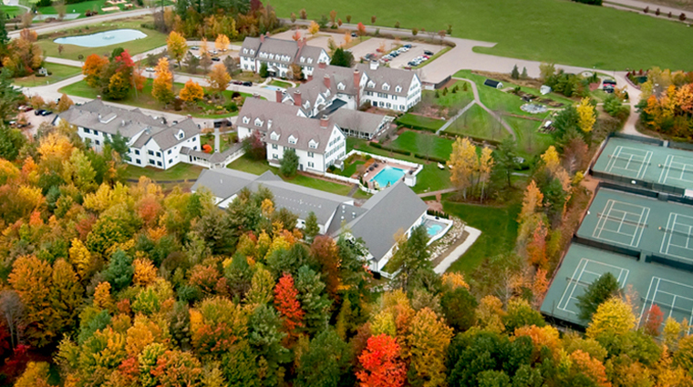 the essex resort spa aerial