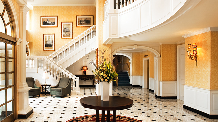 the fairfax at embassy row foyer
