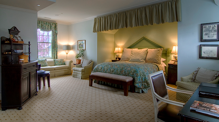 the fearrington house inn guestroom