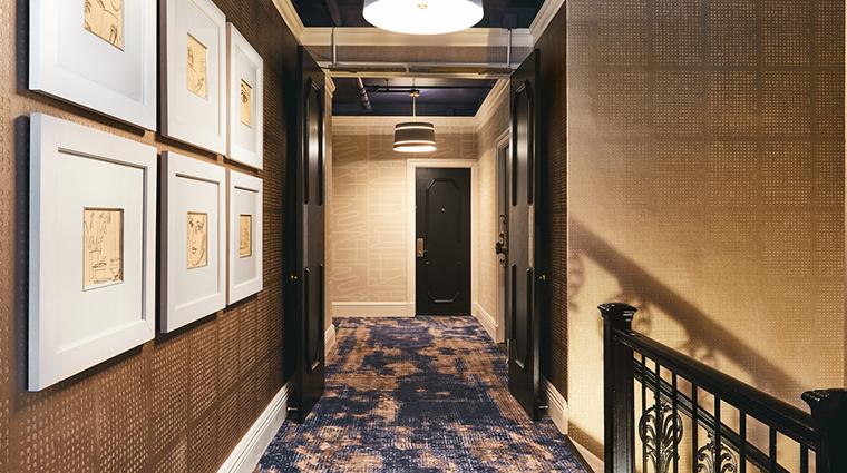 galleria park hotel corridor