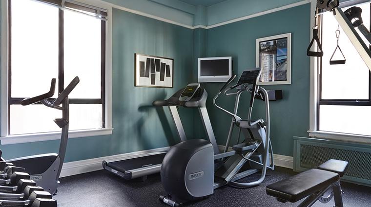 galleria park hotel fitness center