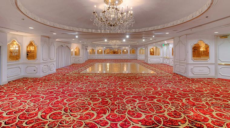 The Garden City Hotel red ballroom