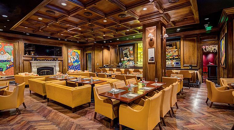 The Garden City Hotel restaurant