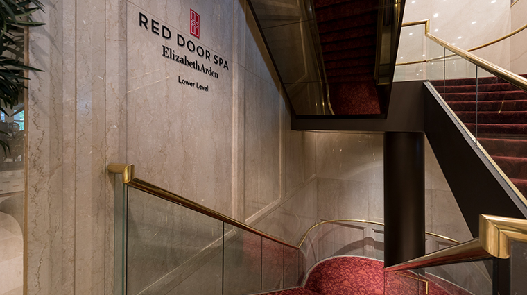 the garden city hotel new red door spa