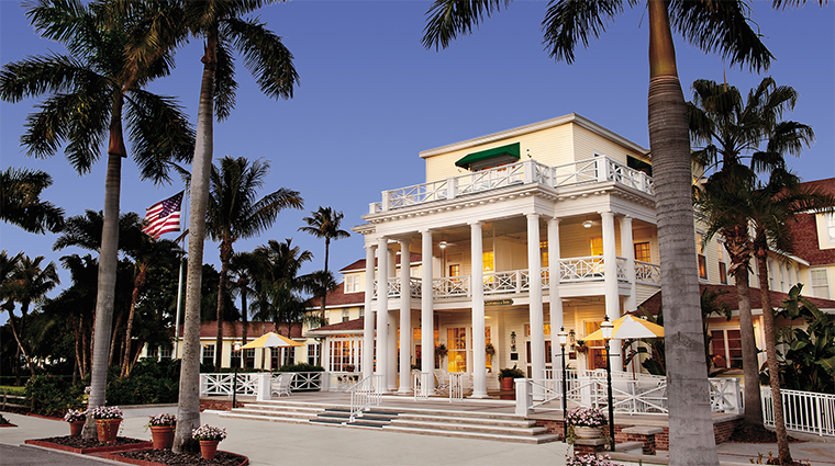 the gasparilla inn club daytime exterior