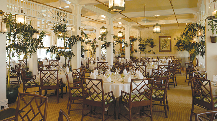 the gasparilla inn club inn dining room