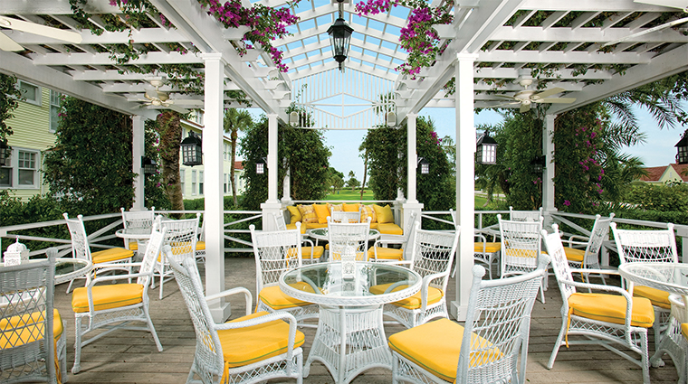 the gasparilla inn club veranda