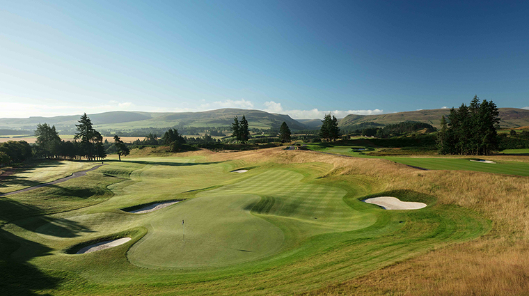 the gleneagles hotel 18th hole pga centenary course