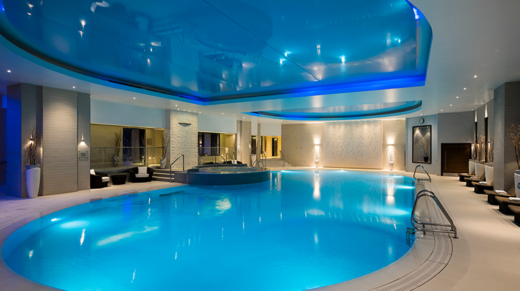 the gleneagles hotel health club pool