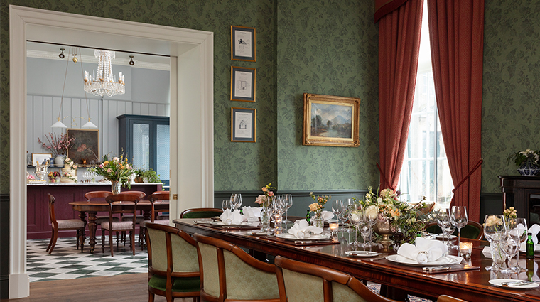 the gleneagles hotel ochil house broadcasting room pantry