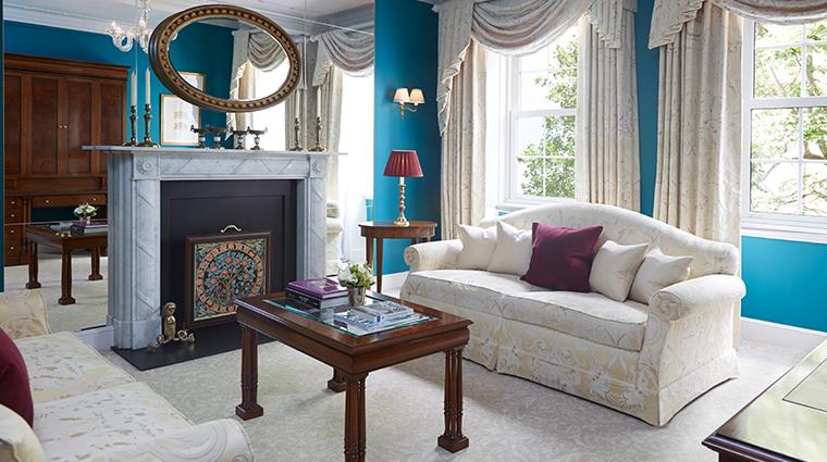 the goring belgravia suite sitting