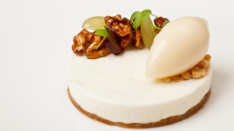 the goring dining room dessert