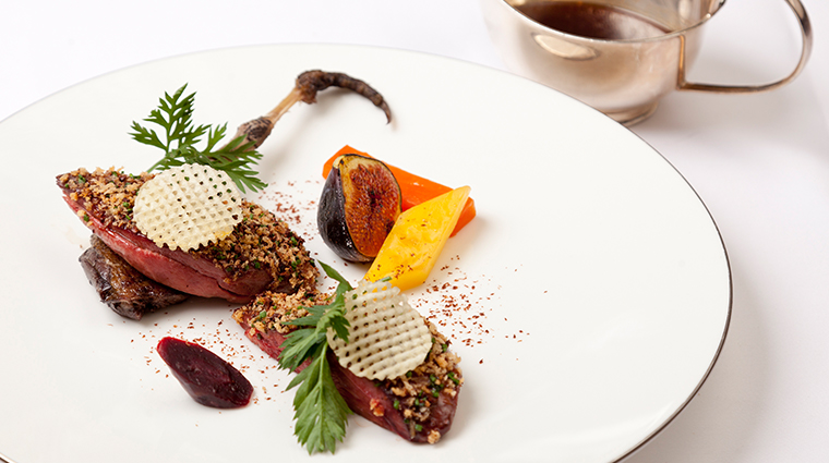 the goring dining room entree