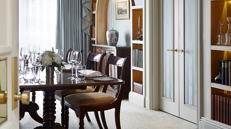 the goring royal suite dining