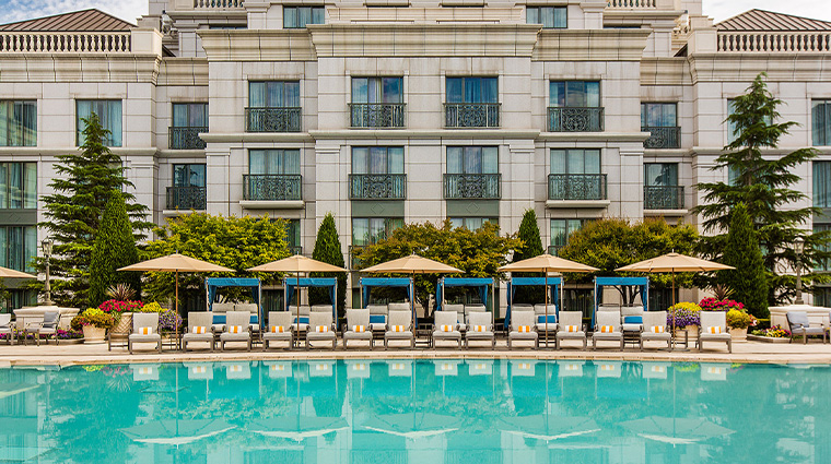 the grand america hotel outdoor pool
