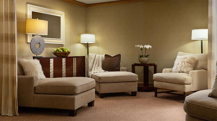 the grand spa at the grand america hotel common lounge