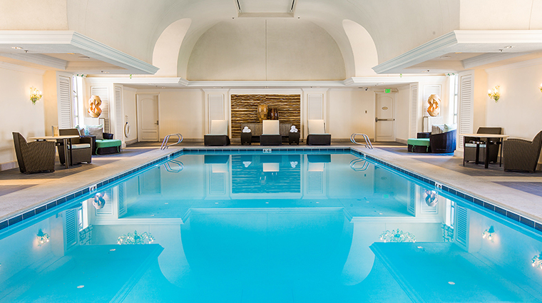the grand spa at the grand america hotel indoor pool