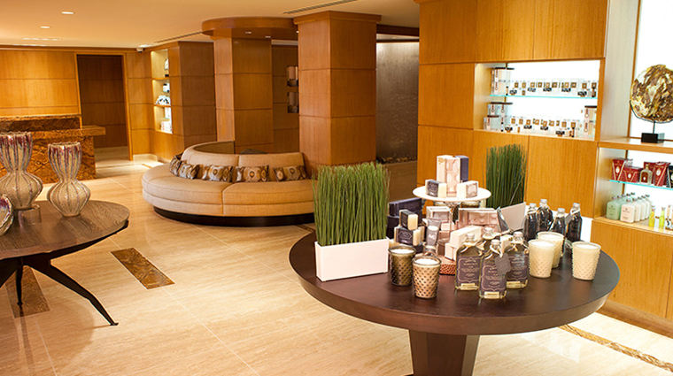 the grand spa at the grand america hotel lobby