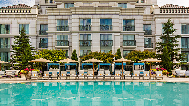 the grand spa at the grand america hotel outdoor pool