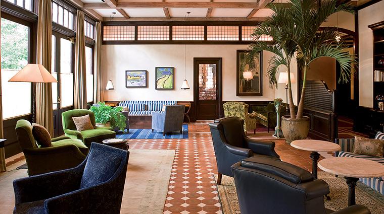 The Greenwich Hotel lobby