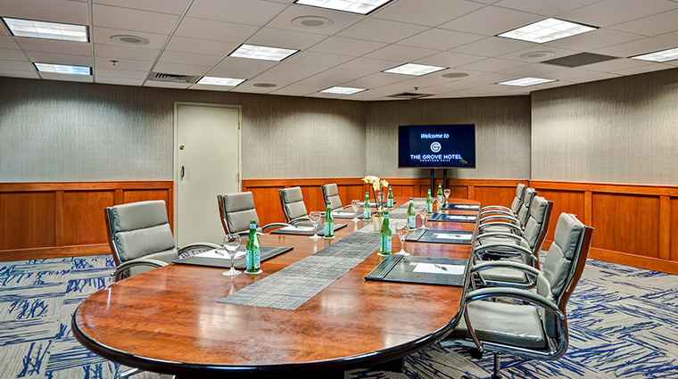 the grove hotel boardroom