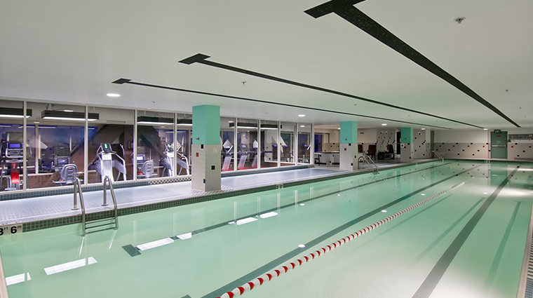 the grove hotel fitness pool