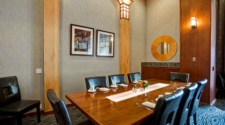 the grove hotel private dining