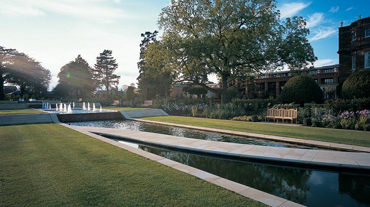 the grove formal garden