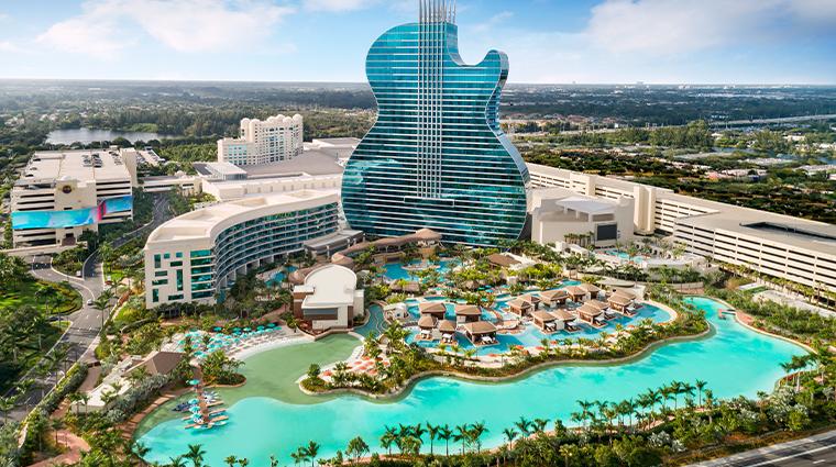 the guitar hotel exterior