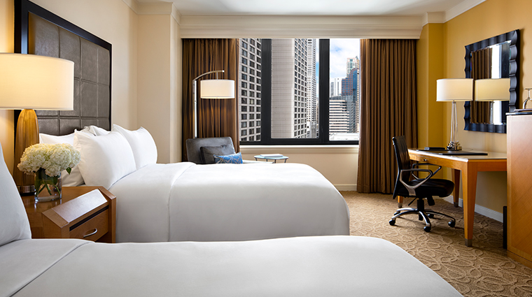 the gwen a luxury collection hotel double guestroom
