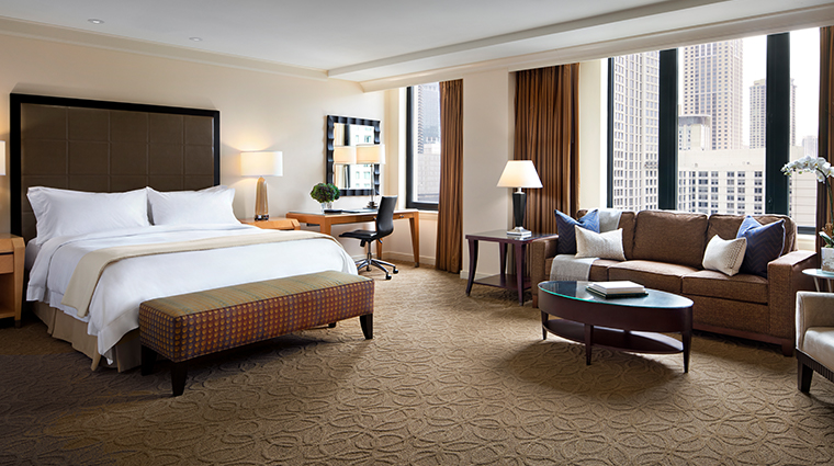 the gwen a luxury collection hotel junior suite