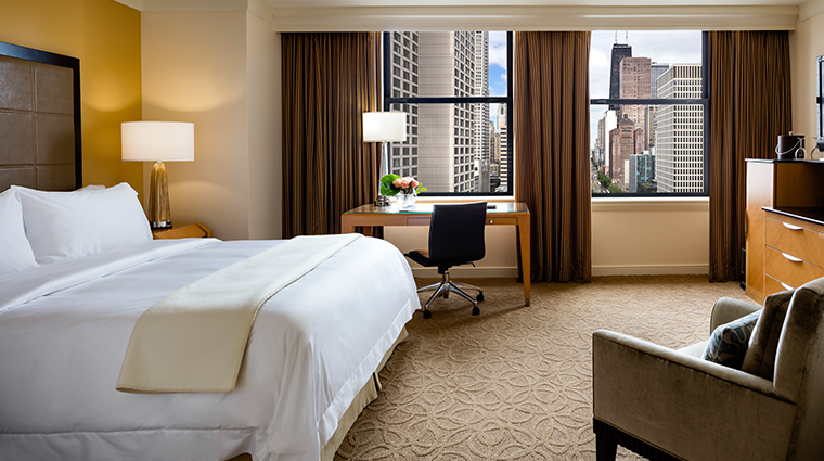 the gwen a luxury collection hotel king guestroom
