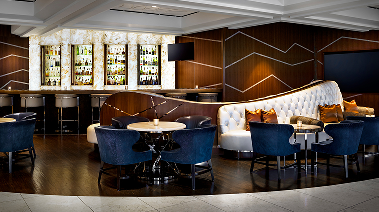 the gwen a luxury collection hotel lobby lounge