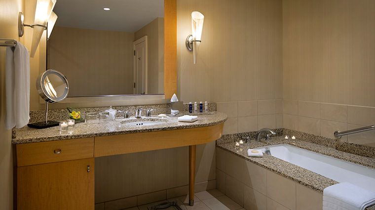 the gwen a luxury collection hotel terrace suite bathroom