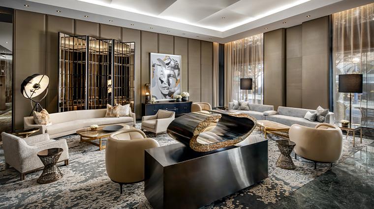 the hazelton hotel lobby