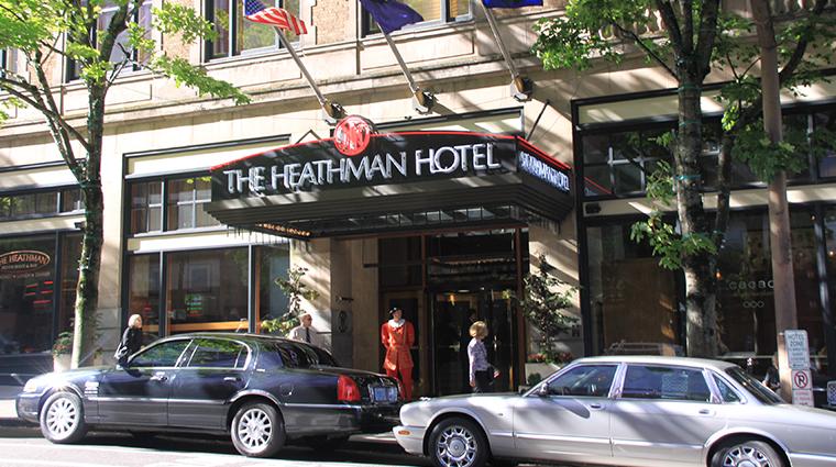 the heathman hotel exterior