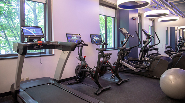 the heathman hotel fitness center