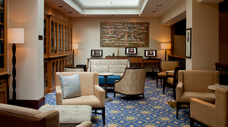 the heathman hotel library