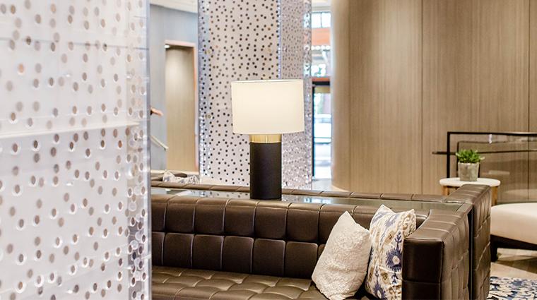 the heathman hotel lobby angle