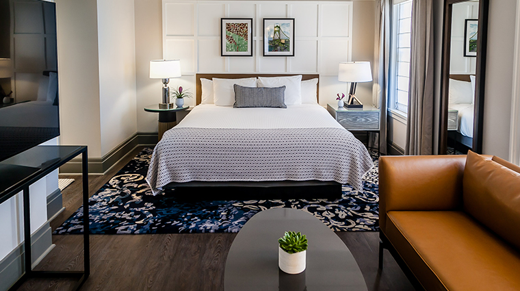 the heathman hotel renovated guestroom